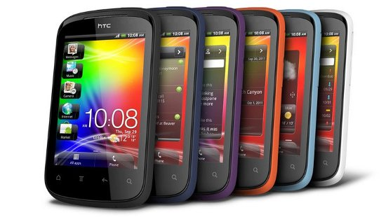 Android смартфон HTC Explorer