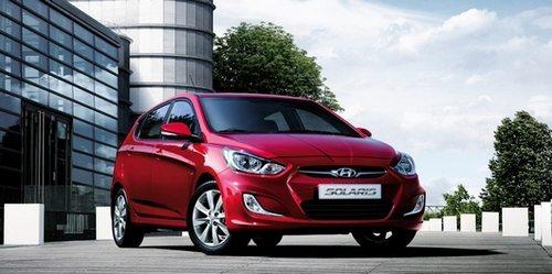 Hyundai Solaris - теперь и хэтчбек
