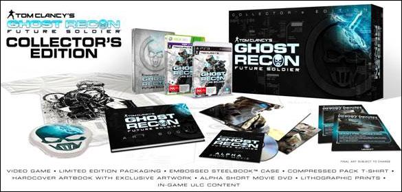 Коллекционное издание Ghost Recon: Future Soldier