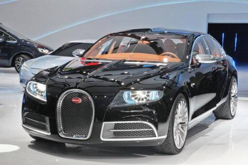 В Женеве показан самый дорогой седан Bugatti 16C Galibier.
