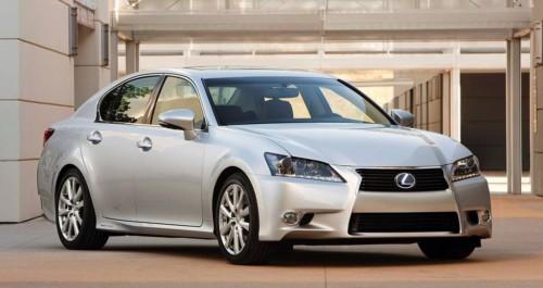 В ожидании Lexus GS450h 2012 года